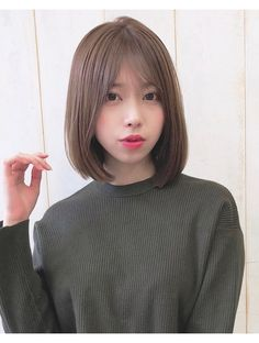Japanese Short Hair, Asian Short Hair, Girl Short Hair, Short Hair Cuts, Short Hair Styles, Short Bob Hairstyles, Girl Hairstyles, Beauty Skin, Hair Beauty