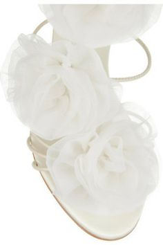 white shoe these would be adorable for a wedding shoe! ( for the bride of course). ~ kb