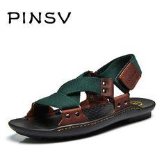 san francisco 37b47 b1aa9 Cheap Sandalias de verano de Hombres Sandalias Hombre Sandalias de Playa  Zapatos de Los Hombres de