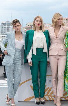 Kristen Stewart, Léa Seydoux yCate Blanchett Cannes 2018
