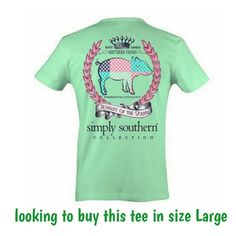 Looking to Buy this Simply Southern tee Looking to buy this Simply Southern tee in size Large Simply Southern Tops Tees - Short Sleeve
