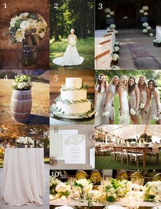 #rustic #country #chic #neutral #colors #wedding   The Very Indecisive Bride: Nature Inspired Outdoor Wedding