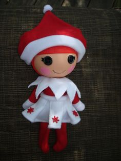 Lalaloopsy Doll Clothes Elf  for Girl or Boy. $14.50, via Etsy.