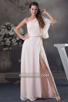 Robe bustier satin rose