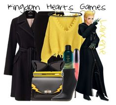 """Larxene from the Kingdom Hearts Games (Dressed Down)"" by imanirine ❤ liked on Polyvore featuring Miss Selfridge, Bally, MAC Cosmetics, Oribe, Yves Saint Laurent, Drybar and BillyTheTree"