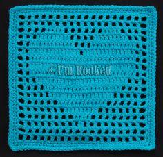 Crochet Filet Heart Block