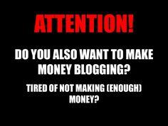 make-money-blogging-17674007 by Sander van Dijk via Slideshare