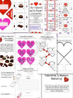 """""""Be My Valentine, Amelia Bedelia"""" activity pack!"""