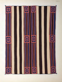 Classic never goes out if style | Navajo Blanket, 1936-1939.