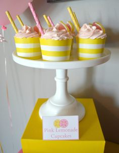 Pink Lemonade Cupcak
