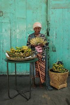 "Saatchi Art Artist Ogi Soedja; Photography, ""Banana Seller from Tunon Village"" #art"