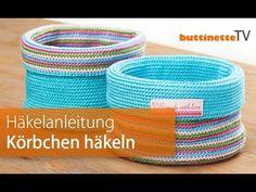 buttinette TV: Wendekörbchen in Frühlingsfarben häkeln | buttinette Blog
