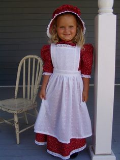 New Girls Pioneer Prairie Dress Costume