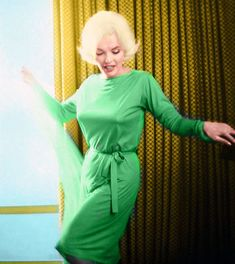 Marilyn Monroe Green Emilio Pucci Dress Marilyn Monroe in the Pucci