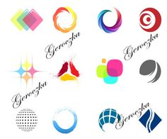 12 Artistic Color Shapes Vector Logotypes Set - http://www.welovesolo.com/12-artistic-color-shapes-vector-logotypes-set/