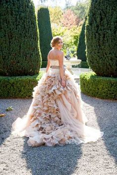 Gorgeous Wedding Dresses From Top Designers ❤ See more: http://www.weddingforward.com/wedding-dresses-from-top-designers/ #weddings