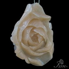 Hand carved Pendant Flower Pendant Peony Pendant Clothes Pendant F10243 #PDN #Pendant