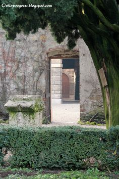 Giardini Giusti (Verona) - portoni