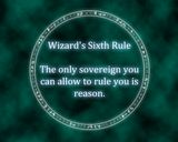 Wizard's Sixth Rule Terry GoodKind- Sword of Truth Series