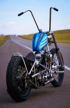 'Evil Spirit' Kool Chopper. http://lordofmotors.com/2011/01/evil-spirit.html #harleydavidsonbaggerpaint #harleydavidsonchoppersvintage #motorcycleharleydavidsonchoppers