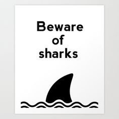 Hey, I found this really awesome Etsy listing at https://www.etsy.com/listing/153912325/bathroom-art-beware-of-sharks-ocean