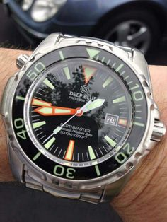 #Deep #blue #divemaster #divers #watch #microbrand #watch