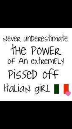 Never piss off an italian mom