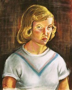 Sylvia Plath, Self Portrait