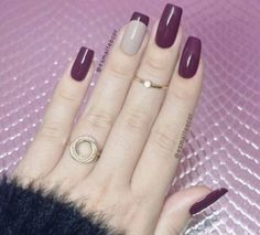 Love this plum color!