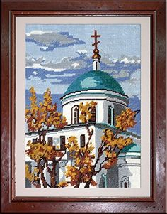 Church Of The Ascension - Counted Cross Stitch Kit with Color Symbolic Scheme PC-Studia http://www.amazon.com/dp/B00OW9WYR2/ref=cm_sw_r_pi_dp_aUpvub1FXEHZ4