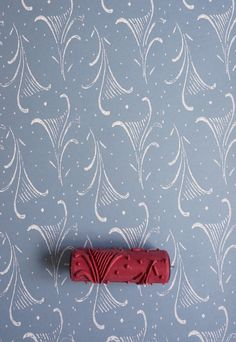 Patterned Paint Roller No.6  from Paint & by patternpaintrollers