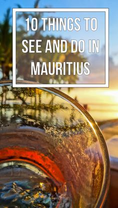 Mauritius is often described as heaven on Earth, and with good reason- it is truly a paradise with so many things to do. Check out these top 10 to start! Mauritius Honeymoon, Mauritius Travel, Mauritius Island, Fiji Islands, Cook Islands, Honeymoon Destinations, Holiday Destinations, Oh The Places You'll Go, Places To Travel