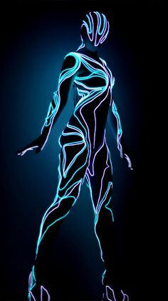 47 best Electro luminescent wire costumes images on Pinterest ...