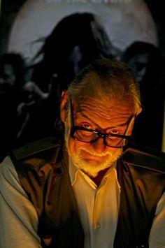 George Romero 1940- Screenwriter, author, director, zombie horror cult icon.
