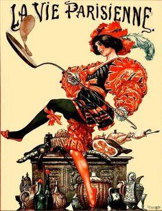 La Vie Parisienne 1925 ~ Cheri Herouard