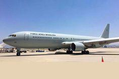 O Boeing C-767 2900 pronto para ser entregue à FAB (reprodução: Fórum Aeroentusiastas)