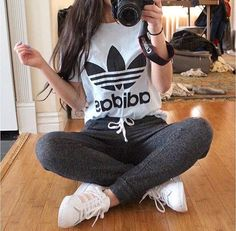 Adidas shirt sweatpants