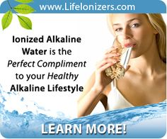 Alkaline Lifestyle a valuable resource for information, products and expert advise on the subject of Alkaline Diet, Nutrition, Fitness and more. Ionised Water, Water Facts, Water Ionizer, Natural Health, Compliments, Healthy Lifestyle, Learning, Weight Loss, Compliment Words
