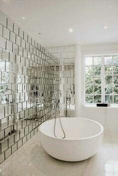 ber ideen zu spiegelfliesen auf pinterest spiegel fliesen und spiegelw nde. Black Bedroom Furniture Sets. Home Design Ideas