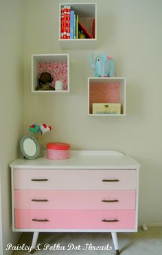 I would love to do this to a dresser.