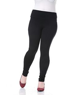 Chicwe Womens Deep Waist Band Plus Size Jeggings Leggings Style Skinny Pants 22 Black ** Check this awesome product by going to the link at the image. (This is an affiliate link) Plus Size Leggings, Leggings Are Not Pants, Women's Leggings, Leggings Style, Maternity Activewear, Maternity Swimwear, Maternity Wear, Wardrobe Solutions, Treggings