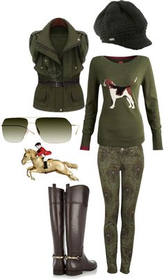 """""""English Fox Hunt"""" by country-artisan on Polyvore"""