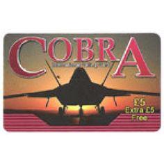 Cobra £5 International Calling Card