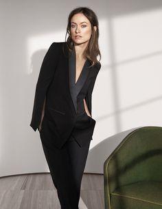 Оливия Уайлд (Olivia Wilde) в рекламе для H&M #ОливияУайлд #OliviaWilde