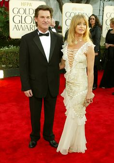 Kurt Russell & Goldie Hawn -- 2003 Oliver Hudson, Kate Hudson, Goldie Horn, Goldie Hawn Kurt Russell, The First Wives Club, Actors Male, Old Movie Stars, Red Carpet Gowns, American Actress