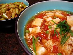 Kylie Kwong's hot and sour soup- tried this tonight..easy and yummy!