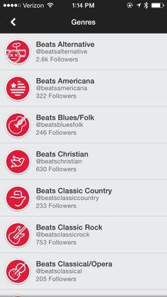 Beats Music Screenshots