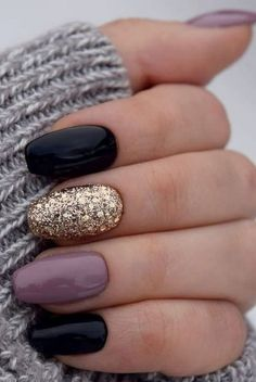 50 fabulous free winter nail art ideas 2019 - page .- 50 fabelhafte kostenlose Winter Nail Art Ideen 2019 – Seite 19 von 53 # 2019 50 fabulous free winter nail art ideas 2019 – page 19 of 53 # 2019 … – make up and nails – - Winter Gel Nails, Winter Nail Art, Fall Nails, Summer Nails, Holiday Nails, Spring Nails, Winter Art, Christmas Nails, Fall Almond Nails