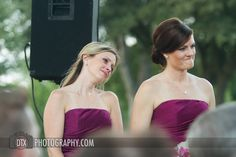Sometimes its your girls' reactions that are the best!     www.dtxweddings.com
