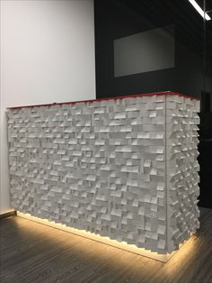 """Panel """"Jazz"""".The workpiece is assembled of wooden bricks of varying heights. Such a structure create volume and immersive effect in your space.#wallpanels #woodpanels #reclaimedwood #woodwallsculpture #wood #drovitnya #деревянныепанели #декор #декордлястен #дизайнинтерьера #3dpanel"""